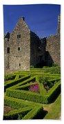 A Garden In Front Of Tully Castle Near Bath Towel
