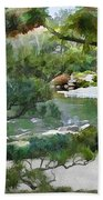 A Glimpse Of Tranquility Bath Towel