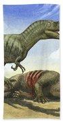 A Gorgosaurus Libratus Stands Bath Towel