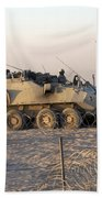A Lav IIi Infantry Fighting Vehicle Bath Towel