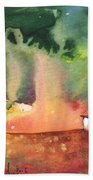 A Little House On Planet Goodaboom Bath Towel