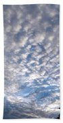 A Mackerel Sky Bath Towel