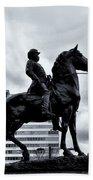A Man A Horse And A City Bath Towel