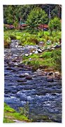 A Place Without Time Bath Towel