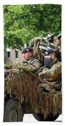 A Recce Or Scout Team Of The Belgian Bath Towel