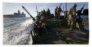 A Riverine Squadron Conducts Security Bath Towel