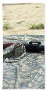 A Rocket-propelled Grenade Launcher Bath Towel