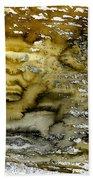 A Sea Of Raw Sienna Bath Towel