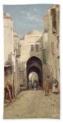 A Street In Jerusalem Bath Towel