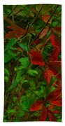 A Touch Of Christmas In Nature Bath Towel