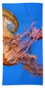 A Trio Of Jellyfish Bath Towel