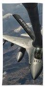 A U.s. Air Force F-16c Block 50 Bath Towel