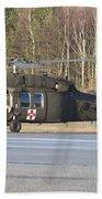 A U.s. Army Uh-60l Blackhawk Bath Towel