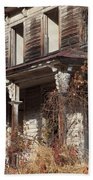 Abandoned Dilapidated Homestead Bath Towel