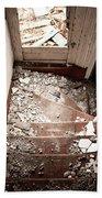 Abandoned Stairs 2 Bath Towel