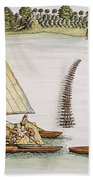 Abel Tasman Expedition 1643 Bath Towel