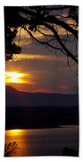 Abiquiu Sunset Bath Towel