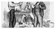 Abolitionist Newspaper Bath Towel