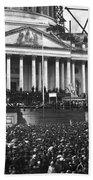 Abraham Lincolns First Inauguration - March 4 1861 Bath Towel