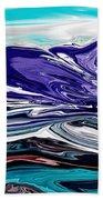 Abstract 102711 Bath Towel