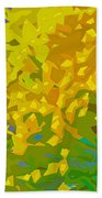 Abstract 167 Bath Towel