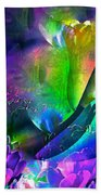 Abstract 255 Bath Towel