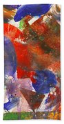 Abstract - Acrylic - Synthesis Bath Towel