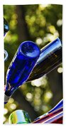 Abstract Bottle Structure Bath Towel