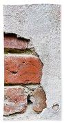Abstract Brick Wall II Bath Towel
