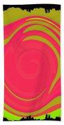 Abstract Color Merge Bath Towel