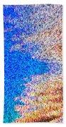 Abstract Dimensional Art Bath Towel