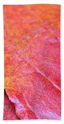 Abstract Dogwood In Autumn Bath Towel