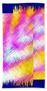 Abstract Fusion 127 Bath Towel