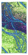 Abstract Fusion 151 Bath Towel
