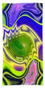 Abstract Fusion 157 Bath Towel