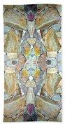 Abstract Fusion 67 Bath Towel