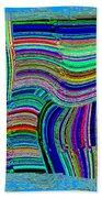 Abstract Fusion 78 Bath Towel