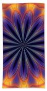 Abstract Kaleidoscope Bath Towel