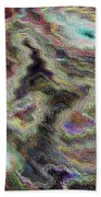 Abstract Pastel Art Bath Towel