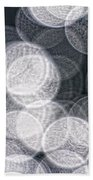 Abstract Photo Of Light Reflecting Bath Towel