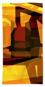 Abstract Sin 27 Bath Towel
