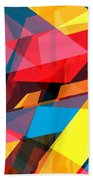 Abstract Sine L 14 Bath Towel