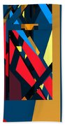 Abstract Sine L 19 Hand Towel