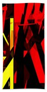 Abstract Sine L 20 Hand Towel