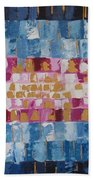 Abstract Sunset I Bath Towel