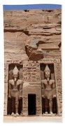 Abu Simbel Egypt 3 Bath Towel