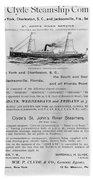 Advertisement: Steamship Bath Towel