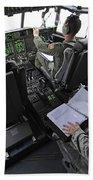 Aircrew Perform Preflight Checklists Hand Towel
