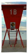 Ala Moana Lifeguard Station Bath Towel
