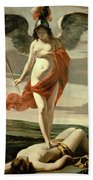 Allegory Of Victory Bath Towel